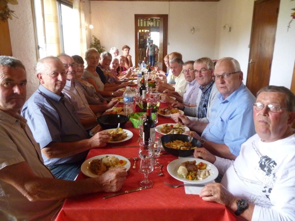 Repas du Club des Aînés