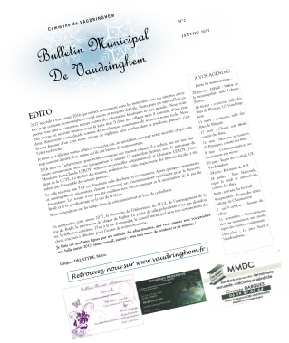 Bulletin municipal 2017 vaudringhem