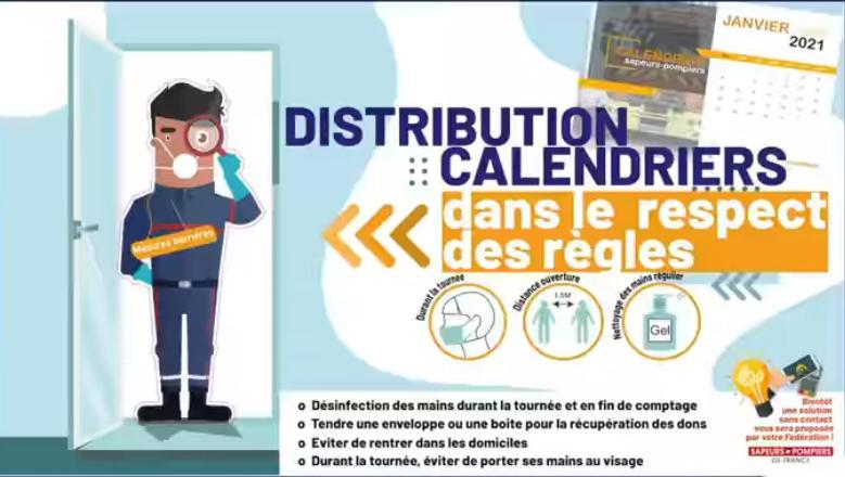 Distribution calendriers