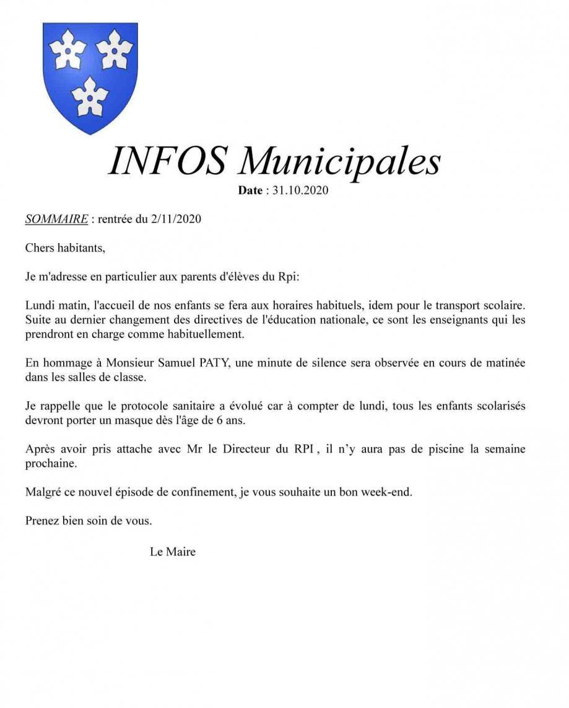 Infos municipales 1