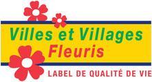 Logo conseil national des villes et villages fleuris cnvvf