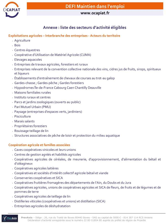 Presentation defi maintien 140121 2