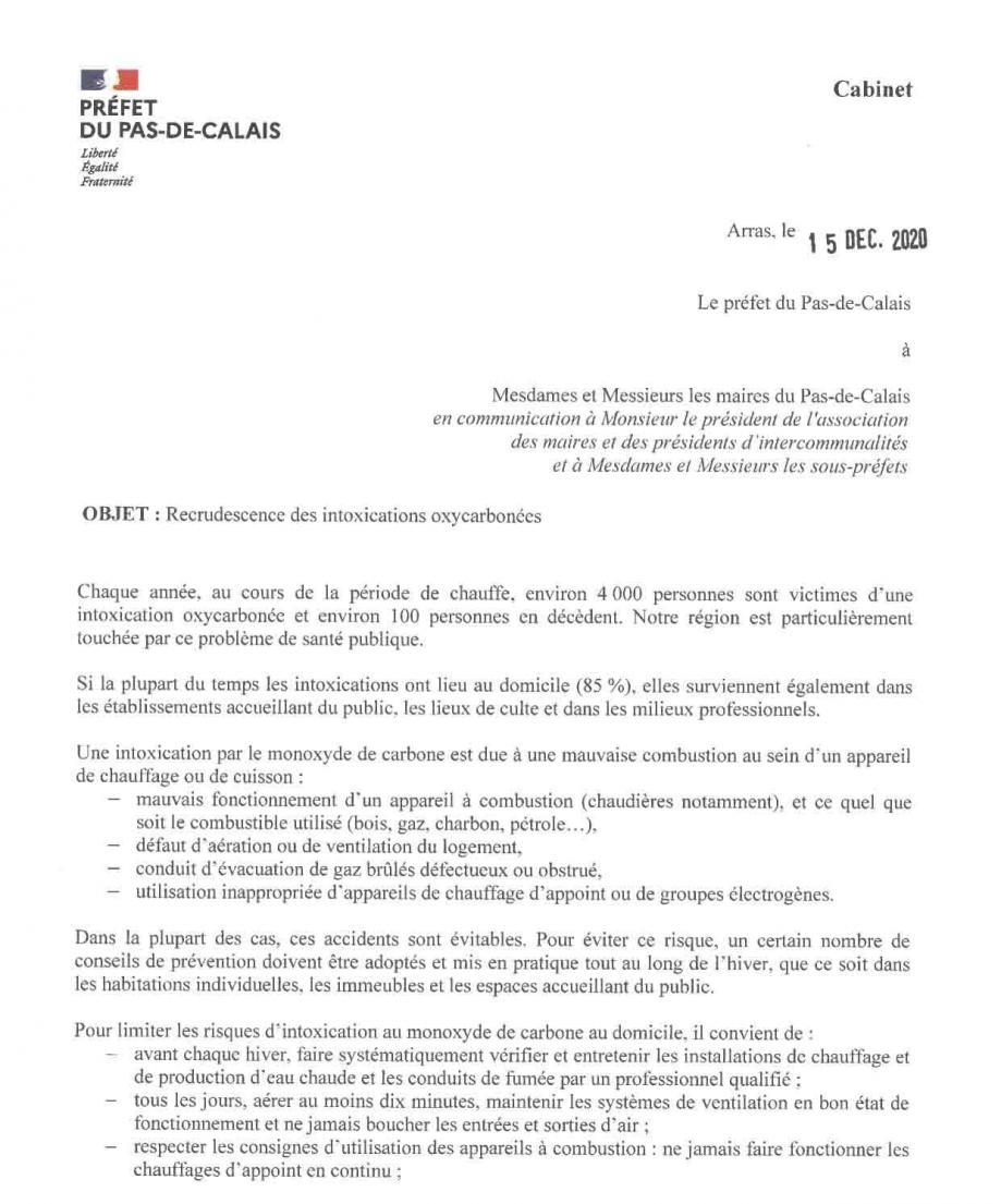 Recrudescence des intoxication oxycarbonees 3